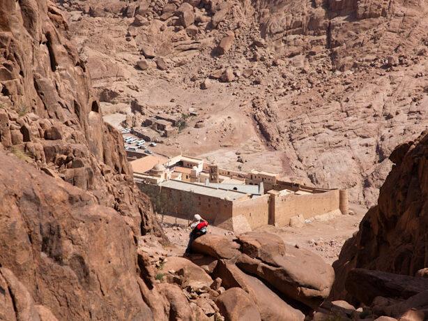 Pellegrinaggio al Sinai