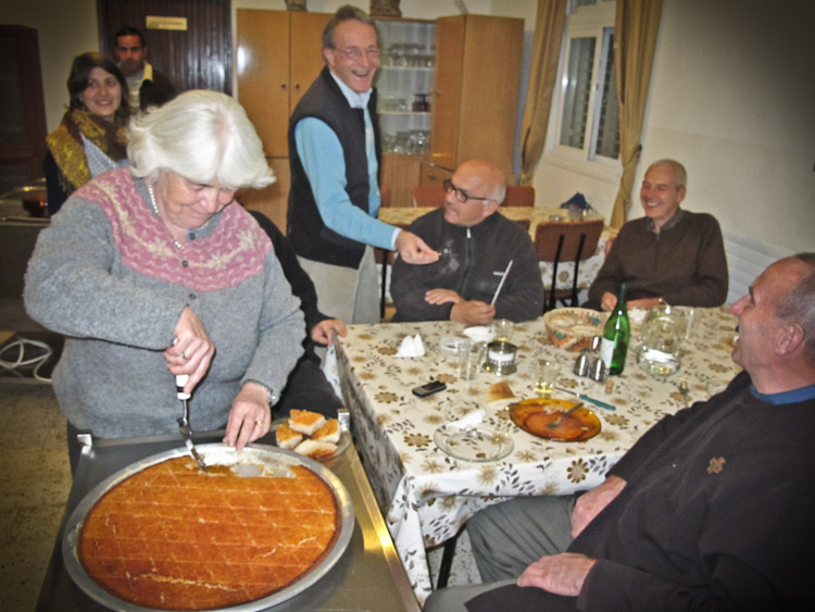 La torta del pellegrinaggio