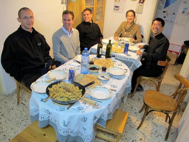 Il medialpj team nella miglior location di Gerusalemme