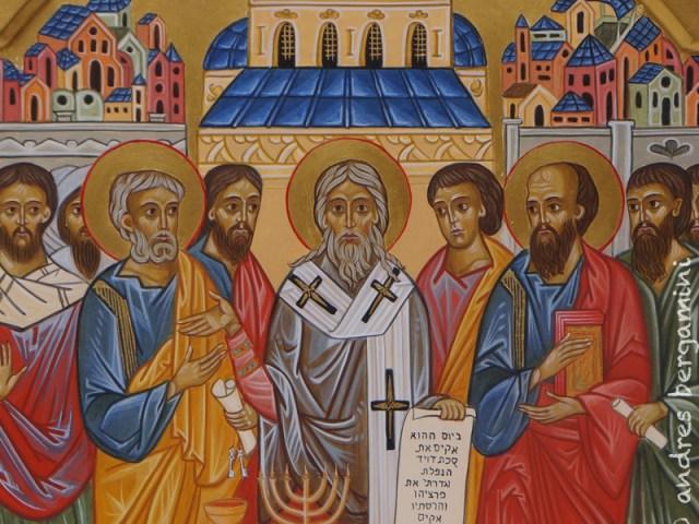 L'icona del Concilio di Gerusalemme per la kehillà