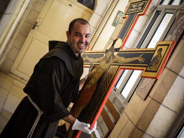 La croce di Alberto per la kehillà di Jaffa