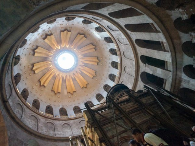 Latini e ortodossi al S.Sepolcro per la 1a di quaresima