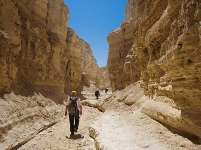 Camminata sul monte Sodoma e nel wadi Pratsim