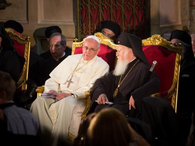 L'incontro di Francesco e Bartolomeo al Santo Sepolcro
