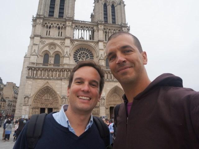 Tre giorni a Parigi con Christophe e Delphine