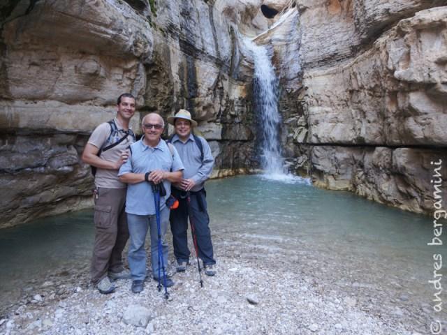 Camminata nel Nahal Arugot