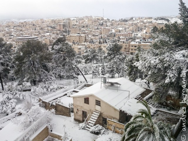 Seconda (e speriamo ultima) neve del 2015 – Video