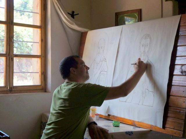 Atelier iconografico a Mapanda