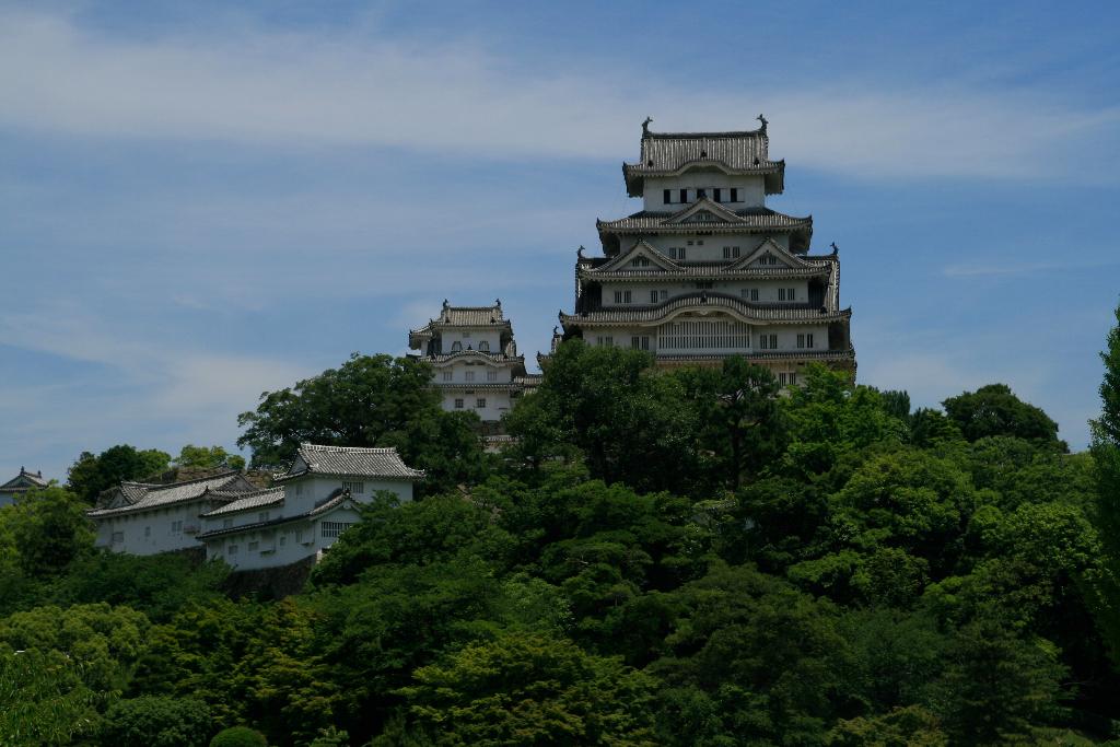 Himeji Castle close up