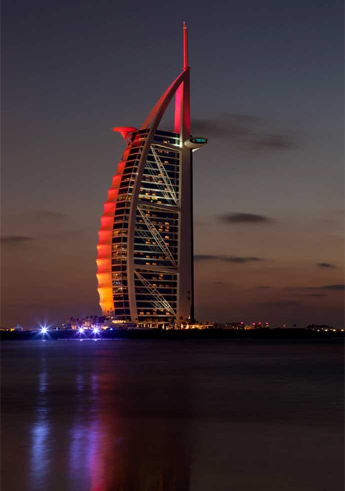 Hôtel Burj-al-arab - Dubaï