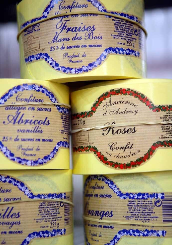 Andresy Confitures préparations de fruits Pour Fromages Les Confitures à l'Ancienne