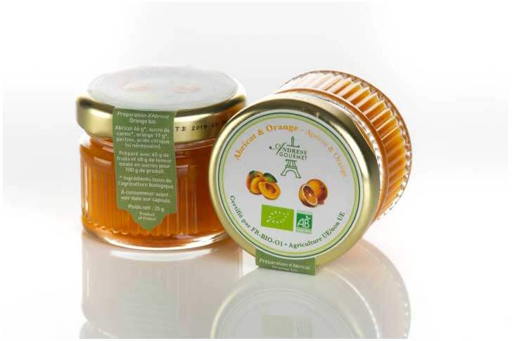 Confiture BIO Abricot-Orange