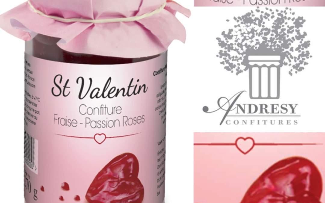 Vous voulez animer vos ventes avec une confiture artisanale évènementielle ? Découvrez la recette édition limitée St Valentin