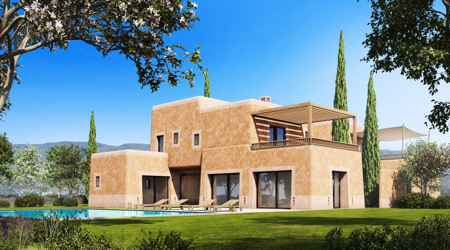 Render 3D - Architectural Visualization - Infografias 3D para dos villas en Marruecos