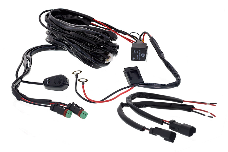 Universal Wiring Harness Kit For Led Lights : 43 Wiring