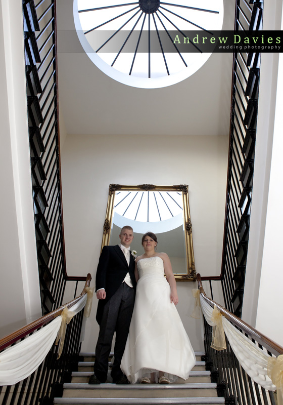 wedding photos from Backworth Hall Newcastle wedding venue from andrew davies photography