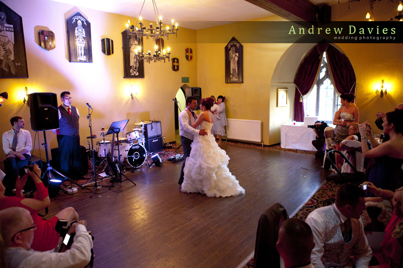wedding photos from langley castle northumberland wedding