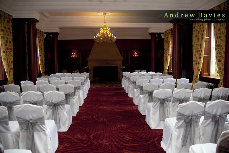 wedding photos from Doxford Hall Northumberland and Newcastle wedding venue from andrew davies