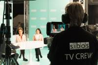 TV Studio At Excel Conference