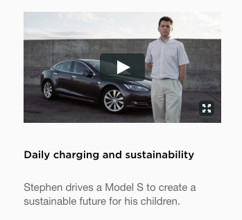 tesla sustainability