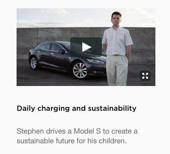 tesla sustainability