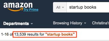 amazon startup book