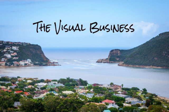 The Visual Business image of the Knysna heads
