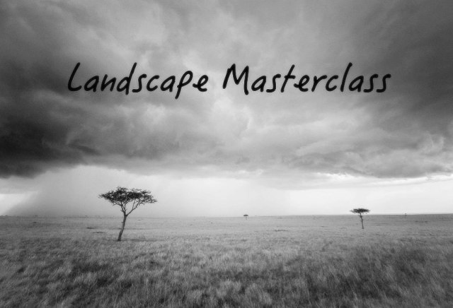 Landscape masterclass slide