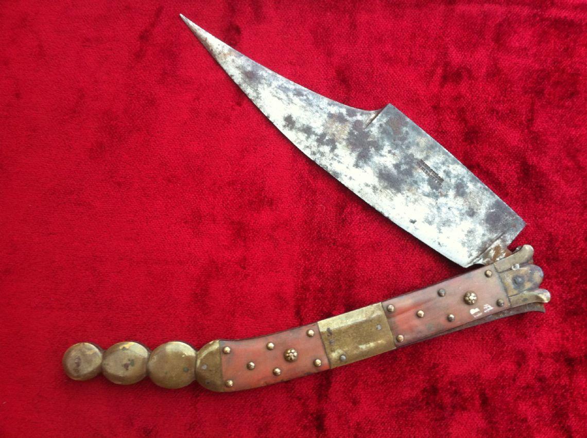 XXX SOLD XXX Spainish Folding knife or Navaja from