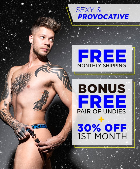 Sexy & Provocative Curated Underwear Club with FREE SHIPPING Image 2