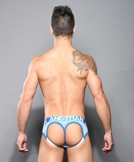 Iced Coffee Rainbow Bubble Butt Jock w/ Almost Naked