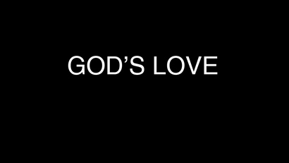 God's Love Powerpoint Sermon
