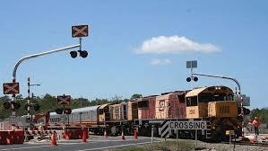 Flashing lights - rail crossing