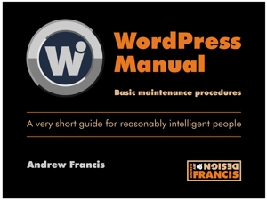 Wordpress Manual for website cover 300