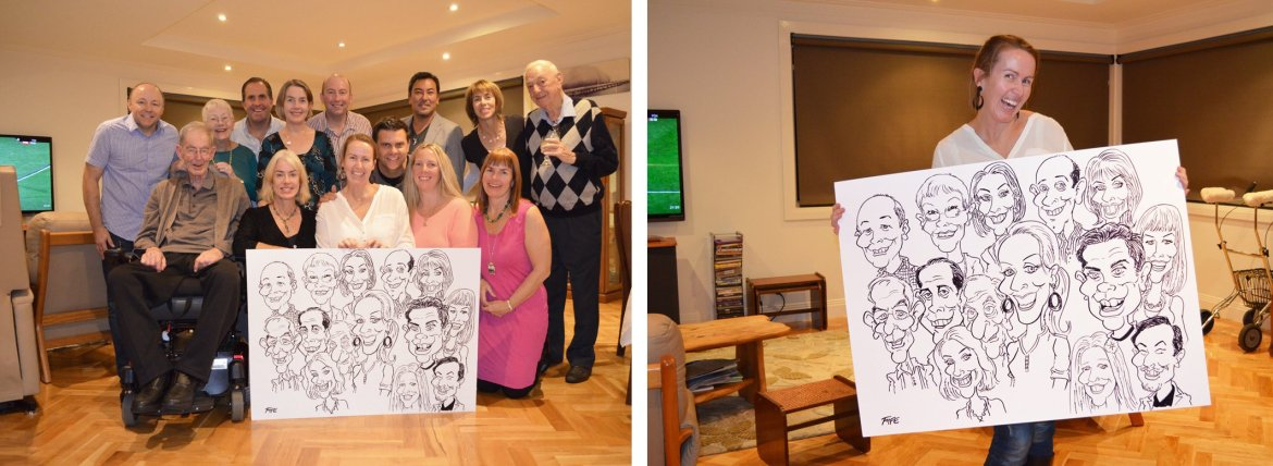 Caricatures for parties,caricature artist for parties