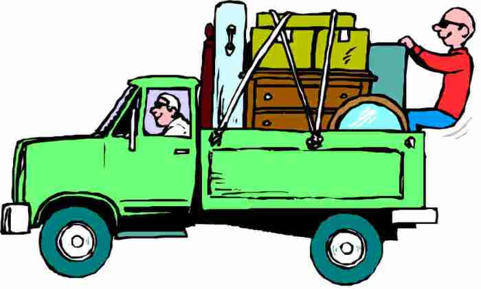 moving company truck illustration 2