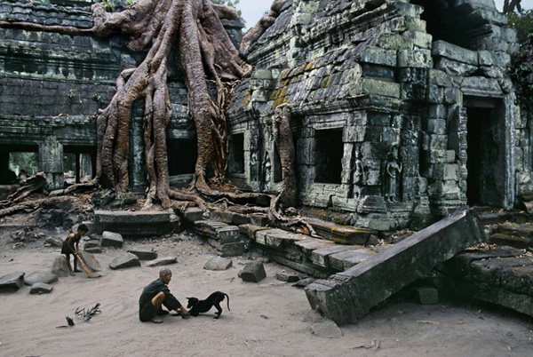 Caretaker Cambodia by Steve McCurry