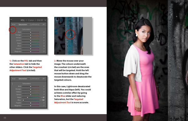 Mastering Lightroom Book Two Develop Module spread