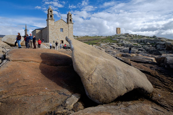 Wide-angle lens photography in Galicia