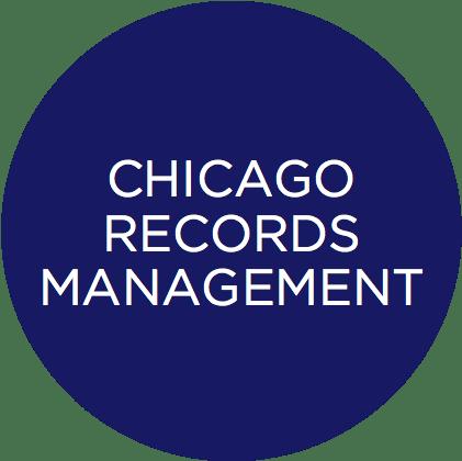 chicago records circle icon