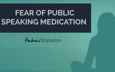 Fear of public speakingmedication and non-medical interventions!