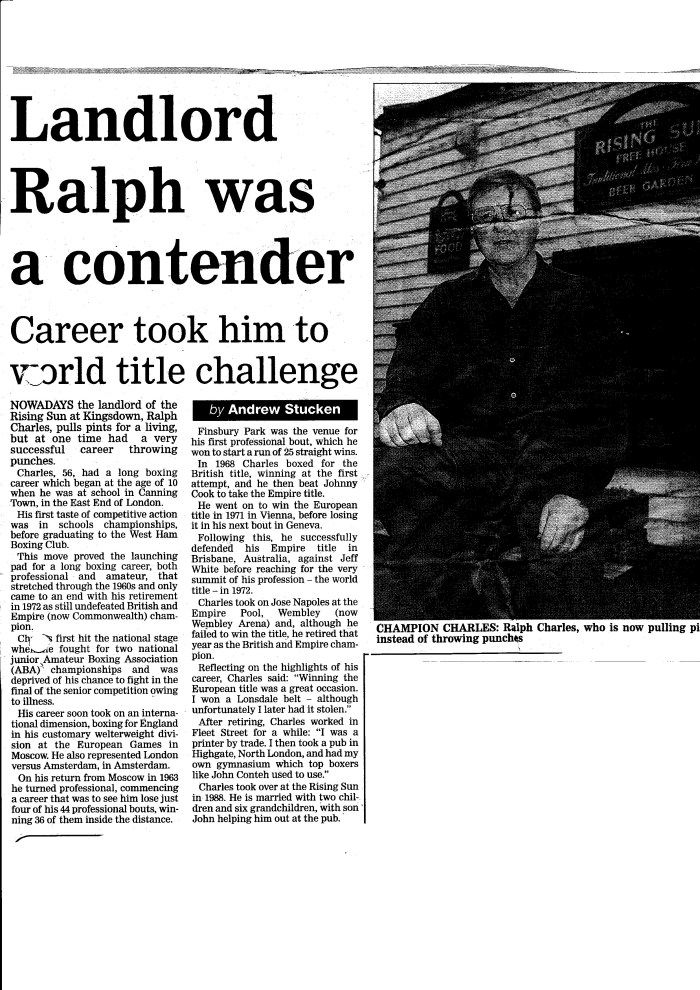 East Kent Mercury, 6 April 2001
