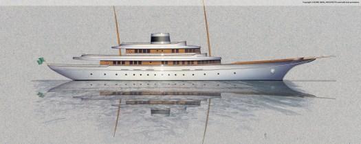 60M Classic Motor Yacht.