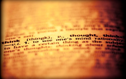 Definition of think