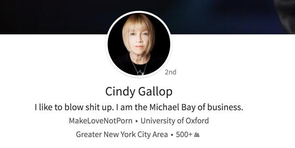 Cindy Gallop profile pic