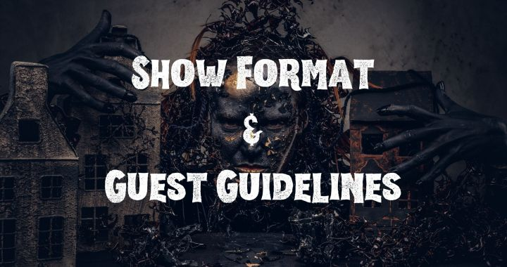 Monsters & Myths show guest guidelines