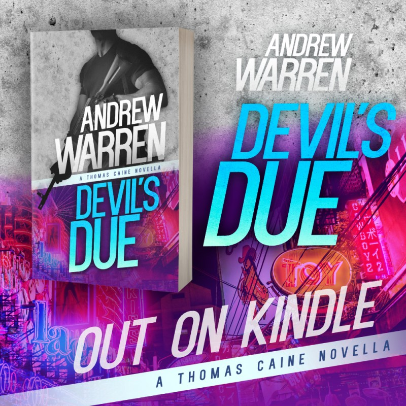 """""""Andrew Warren is a must read!"""" – The Real Book Spy"""