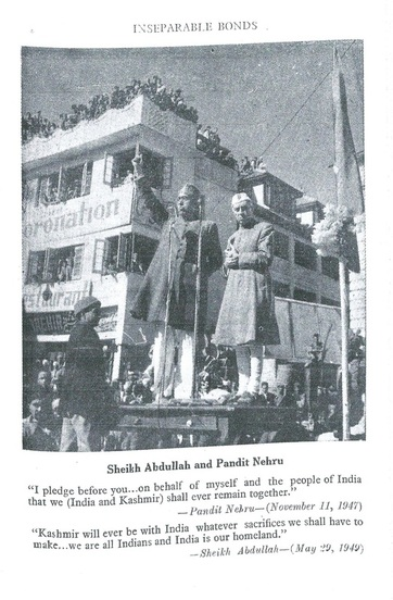 Sheikh Abdullah and Pandit Nehru