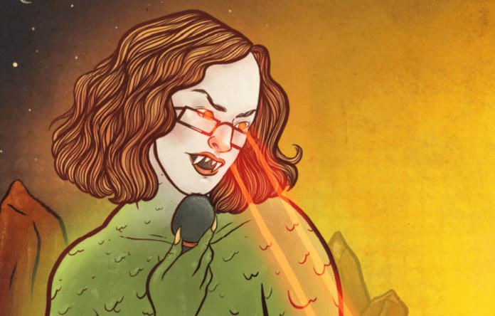 Listen: Jadwiga Green explains why she's a scruffy vagabond!
