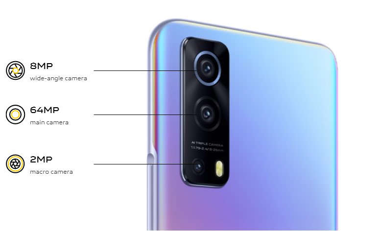 iQoo Z3 cameras
